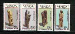 VENDA, 1987, MNH Stamp(s), Wood Sculptures,  Nr(s)  155-158 - Venda