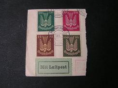 DR Flgpost  München Briefstück 1923 - Gebraucht