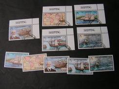 Gurnsey 4Blocks   Seefahrt  Schiffe  1983   274-278   2  X  O  ** MNH  €  9,00 - Guernsey