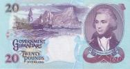 GIBRALTAR P. 27a 20 P 1995 UNC - Gibraltar