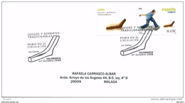 SPAIN 2008. FIRST DAY COVER. Traditional Sports And Games. La Calva Or Morrillo. FIL00 - Juegos