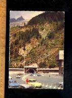 COURMAYEUR Val D'Aosta : Tunnel Du Mont Mt Blanc Coté Italien Traforo Monte Bianco 1965 / Auto Citroen DS - Italia