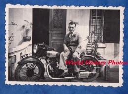 Photo Ancienne - Belle Moto à Identifier - Immatriculation CD 60 - Automobili