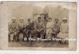 MAROC - MECHRA BEL KSIRI - LA COLONIALE - CARTE PHOTO MILITAIRE - Guerre 1914-18
