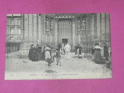ROUEN    1910   MARCHANDES DE  RAMEAUX   EDIT CIRC NON - Rouen