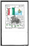 2014 CONVENZIONE ITALIA SAN MARINO  0,70 Euro  NUOVO ** MNH - 2011-...: Neufs