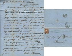 LOMBARDO VENETO 10 SOLDI 1860 SASSONE 31 VENEZIA X PARMA - Lombardy-Venetia