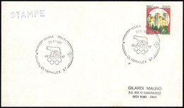 OLYMPIC - ITALIA ROMA 1987 - OLYMPHILEX ´87 - ANNULLO 29.08.1987 - CARD