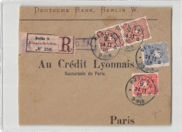 15426 FRONT OF EVNELOPE - DEUTSCHE BANK BERLIN - Lettres & Documents