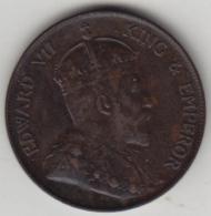 @Y@     Hong Kong   1  Cent  1924    (4065) - Hong Kong