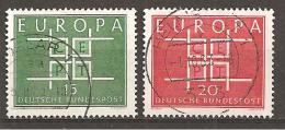 BRD 1963 // Michel 406/407 O (M) - Europa-CEPT