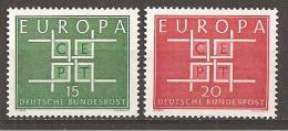 BRD 1963 // Michel 406/407 ** (M) - Europa-CEPT