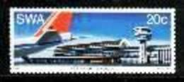 SOUTH WEST AFRICA, 1977, Mint Never Hinged Stamp(s), Strydom Airport  MI 435, #3846 - South West Africa (1923-1990)
