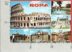 CARTOLINA VG ITALIA - ROMA - Panorama - Vedutine - 10 X 15 - ANN. 1981 - Roma