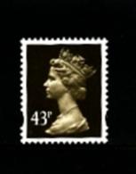 GREAT BRITAIN - 1996  MACHIN  43p.  HARRISON  SEPIA  MINT NH  SG Y1717 - Machins