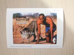 Namibia 1998 - Sports Man-leopard Run - Frank Frederiks For AfriCat - Namibie (1990- ...)