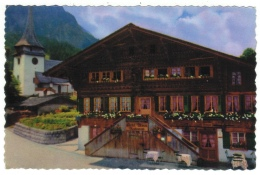 Suisse // Schweiz// Switzerland//  Berne  // Gsteig, Hôtel Bären - BE Berne