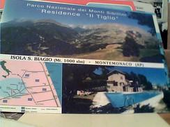 MONTEMONACO -ISOLA S. BIAGIO-RESIDENCE IL TIGLIO  N1985 FU8358 - Ascoli Piceno