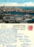 Maritime Railway Station And Ships, Genova, GE Genova, Italy Postcard Posted 1956 Stamp - Genova (Genoa)
