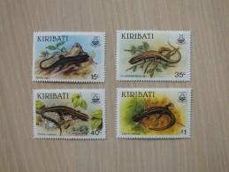 Kiribati 1987 - Reptiles - Kiribati (1979-...)