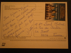 SAN MARINO SAINT MARIN TIMBRE STAMP LETTRE ENVELOPPE COVER LETTER CARTE CARD CP - Lettres & Documents