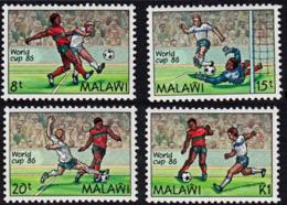 B0611 MALAWI 1986, SG 746-9 World Cup Football Championships,  MNH - Malawi (1964-...)
