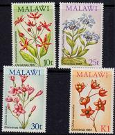 B5271 MALAWI 1987,  SG 776-9  Christmas, Wild Flowers  MNH - Malawi (1964-...)