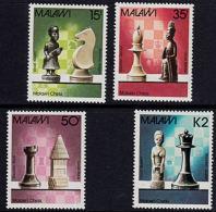 C0211 MALAW) 1988, SG 780-3   Chess  MNH - Malawi (1964-...)