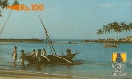 *SRI LANKA - 2SRLB* -  Scheda Usata - Sri Lanka (Ceylon)
