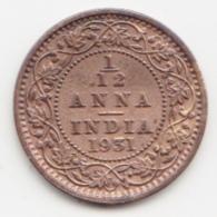 @Y@  INDIA  1/12   Anna   1931    (4066) - India