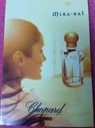 MIRA - BAI  De CHOPARD - Perfume Cards