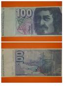 100 FRANCHI SVIZZERA CENT FRANCS BANCONOTA Switzerland - Suisse