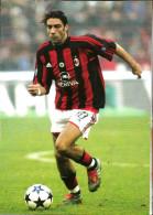 RUI COSTA  MILAN Calcio   Cartolina - Soccer