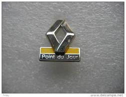 Pin's Agent Renault, Garage Du Point Du Jour Sur LYON (5eme Arrondissement) - Renault