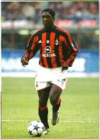 SEEDORF  MILAN Calcio   Cartolina - Soccer