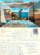 Viserba, RN Rimini, Italy Postcard Posted 1975 Stamp - Rimini