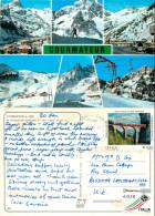 Courmayeur, Val D'Aosta , Italy Postcard Posted 2012 Stamp - Aosta