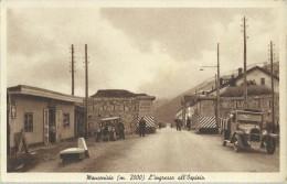 MONCENISIO - L'INGRESSO ALL'OSPIZIO 1946 - Italia
