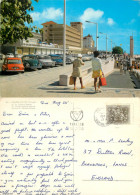 Cars VW Mini Citroen, Figueira Da Foz, Portugal Postcard Posted 1972 Stamp - Coimbra
