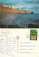 Hammamet, Tunisia Postcard Posted 1987 Stamp - Tunisia