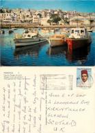 Port, Tanger, Morocco Postcard Posted 1973 Stamp - Tanger