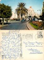 Boulevard Pasteur Cars, Tanger, Morocco Postcard Posted 1967 Stamp - Tanger