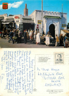 Zoco Grande, Tanger, Morocco Postcard Posted 1971 Stamp - Tanger