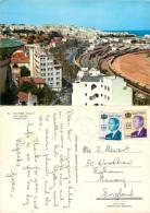 Railway, Tanger, Morocco Postcard Posted 1982 Stamp - Tanger