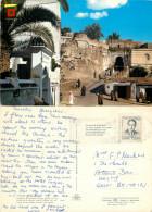 Alcazaba, Tanger, Morocco Postcard Posted 1972 Stamp - Tanger