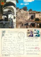 Alcazaba, Tanger, Morocco Postcard Posted 1982 Stamp - Tanger