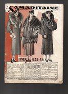 Catalogue A La Samaritaine Hiver 1935-36 - France
