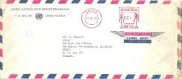 "Airmail  ""United Nations Development Programme, Lagos""          1972 - Nigeria (1961-...)"