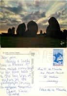 Alignements, Carnac, Morbihan, France Postcard Posted 1977 Stamp - Carnac
