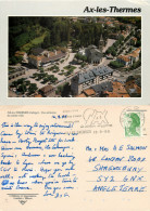 Ax-les-Thermes, Ariège, France Postcard Posted 1989 Stamp - Ax Les Thermes